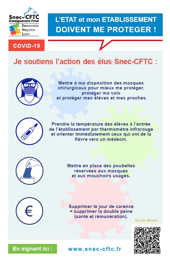 Action Covid Snec-CFTC